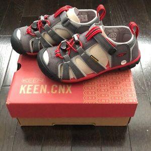 Keen Little Kids' Seacamp II CNX Sandals US 11